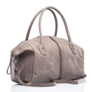 stylish leather female handbag
